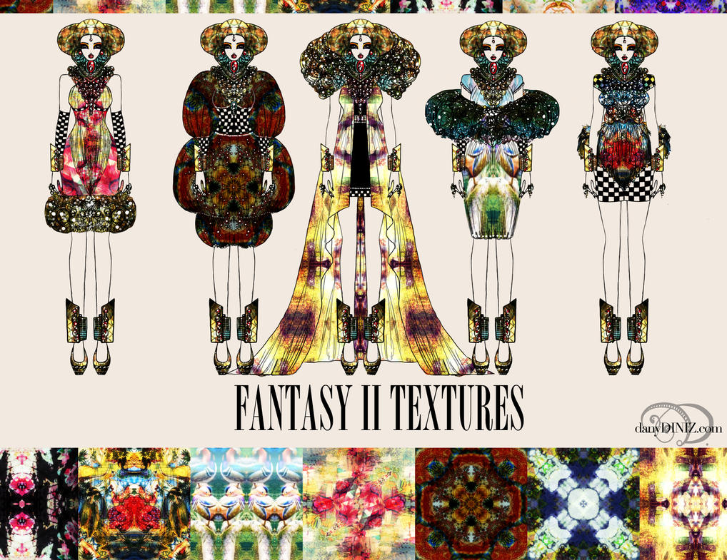 FREE! FANTASY II TEXTURES by danydiniz