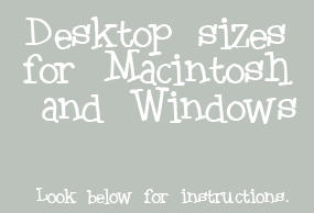 Desktop Sizes Tool Presets
