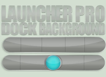 Launcher Pro Android Dock Theme by 13arrio