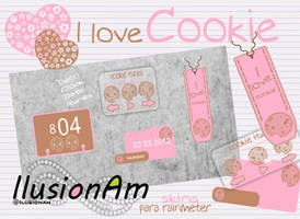 I Love Cookie by IluAm