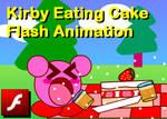 Kirby Eating Cake Flash Animation