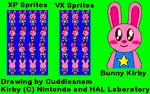 Bunny Kirby Sprites Packs on RPG Maker XP and VX