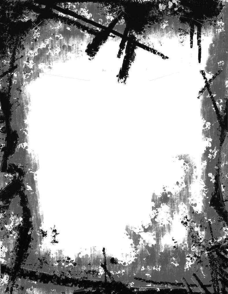 Horror Frame  Brushes by alpruben