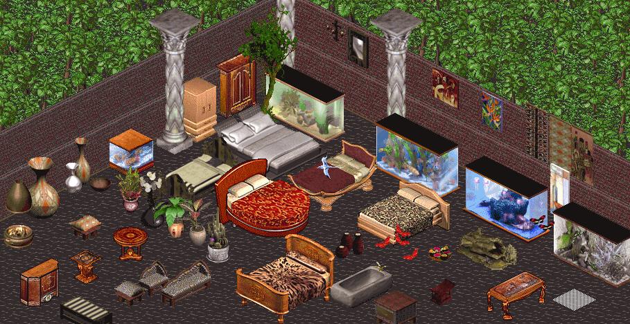 Outsourced Sims 1 Objects by Trishields by Trishields on DeviantArt