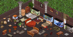 Outsourced Sims 1 Objects by Trishields by Trishields