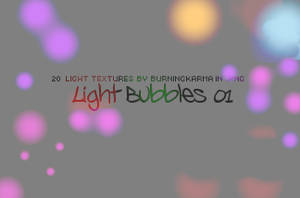 Lightbubbles - Light Textures by BurningKarma