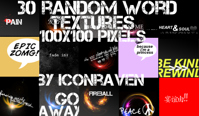 Word textures link fixed by iconxraven