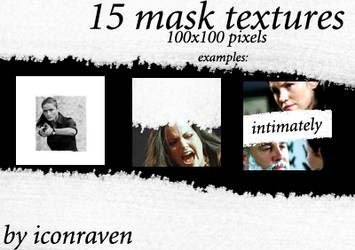 15 mask textures