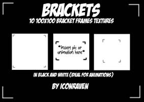 Brackets textures by iconxraven