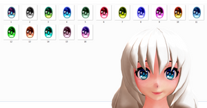 MMD Eyes texture DL