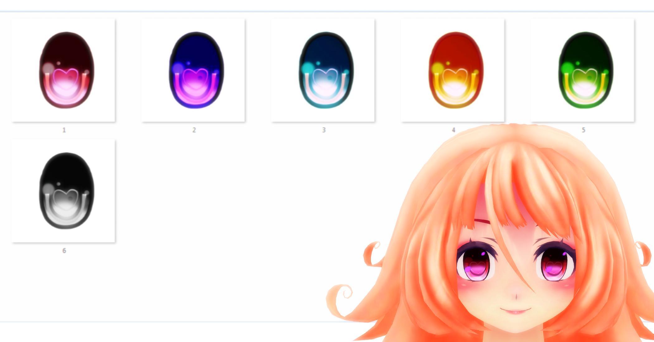 MMD Eyes texture DL by MMDMikuMikuLen