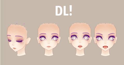 [MMD ]KUMA Face Edit DL! by MMDMikuMikuLen