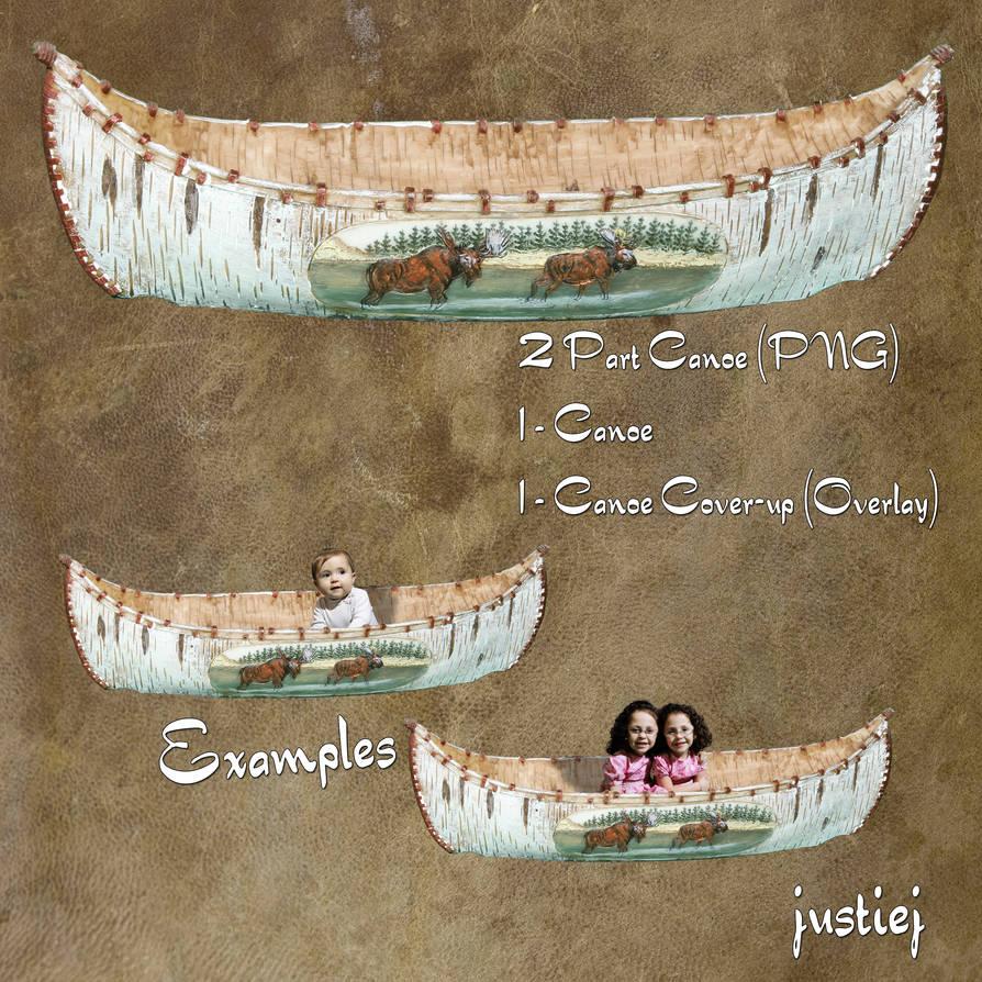 Cutout - Canoe - Zipped Pkg