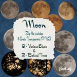 Cutout PNGS - 11 - Moon Pics
