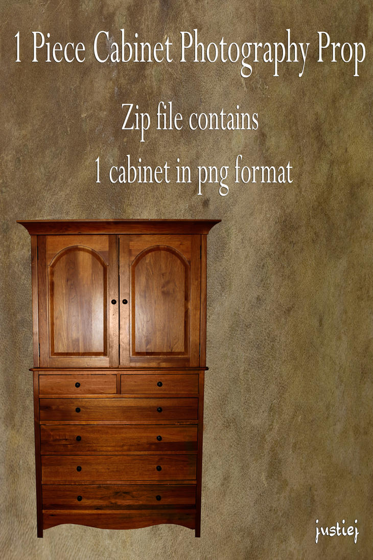Cutout PNG - Cabinet 3 by justiej