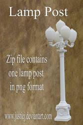 Cutout PNG - Light Post