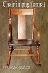 Cutout PNG - Rocking Chair
