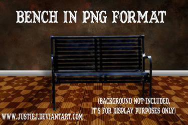 Cutout PNG - Bench