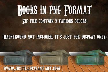 Cutout PNG - Books