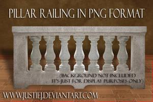 Cutout PNG - Pillar Railing by justiej