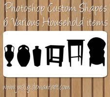 Photoshop Shapes - Household