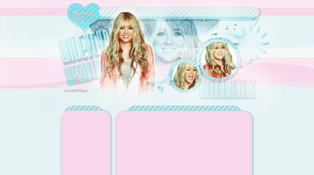 design Hannah Montana 2 by LadyAmme