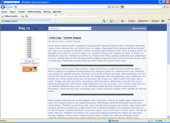 facebook layout by LadyAmme