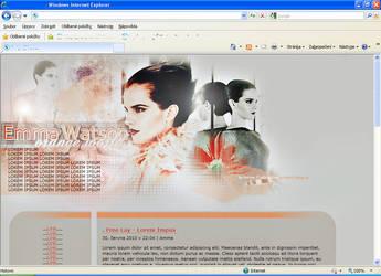Layout Emma Watson by LadyAmme