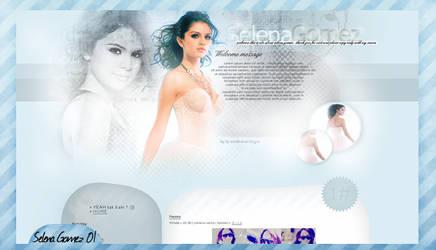 selena gomez layout 012 by LadyAmme