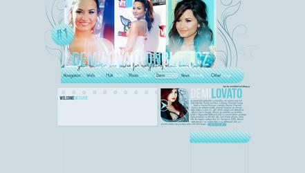 Layout Demi Lovato by LadyAmme