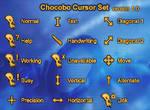 Chocobo Cursor Set v1