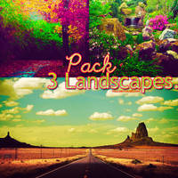 Segundo Pack de Landscapes by TouchBiitch