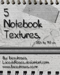 Texture Set 1- Notebooked.