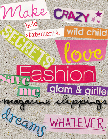Magazine Textures by LacedxRoses
