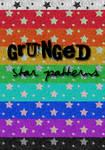 Patterns 1- Grunged Stars