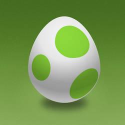 Yoshi Egg by marc2o by marc2o