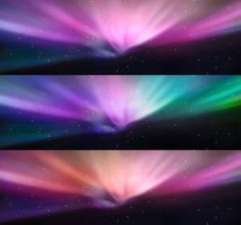 Dual Screen HD Aurora by 2CuriouZ