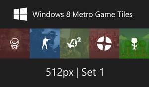 Windows 8 Metro Game Tiles by Erratic-Fox