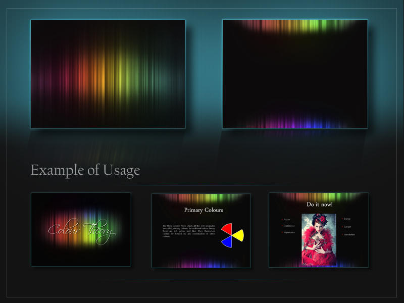 Colour Theory Presentation Template by Tempting-Resources