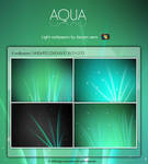 AQUA LIGHT WALLPAPERS