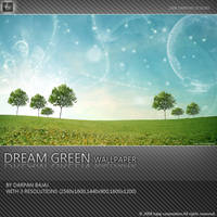 Dream Green Wallpaper by darpan-aero
