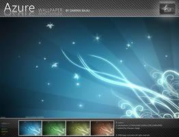 Azure Wallpaper by darpan-aero