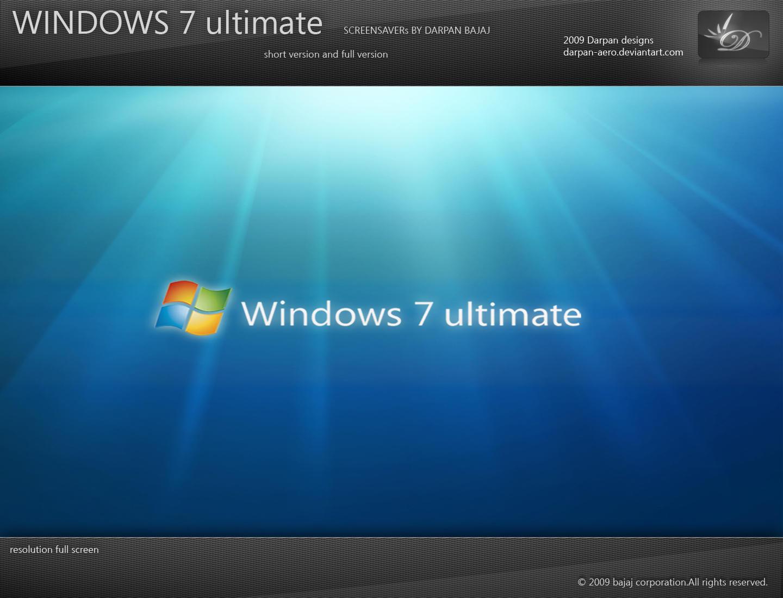 Windows 7 Aurora Screensaver