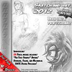 Sketching Set 2012 .:PS Brushes:.