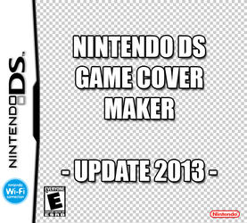 Make A NDS Game Cover by FreakyEd