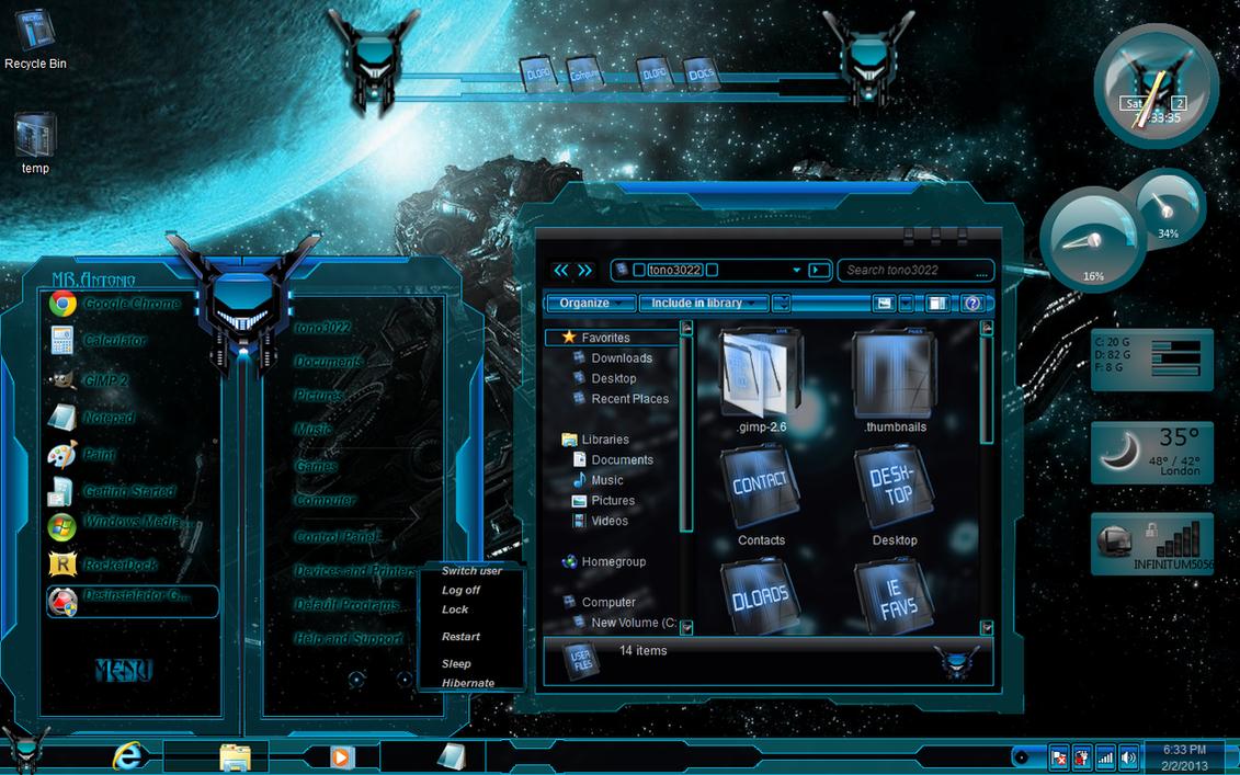 Windows 7 Themes Aqua ...