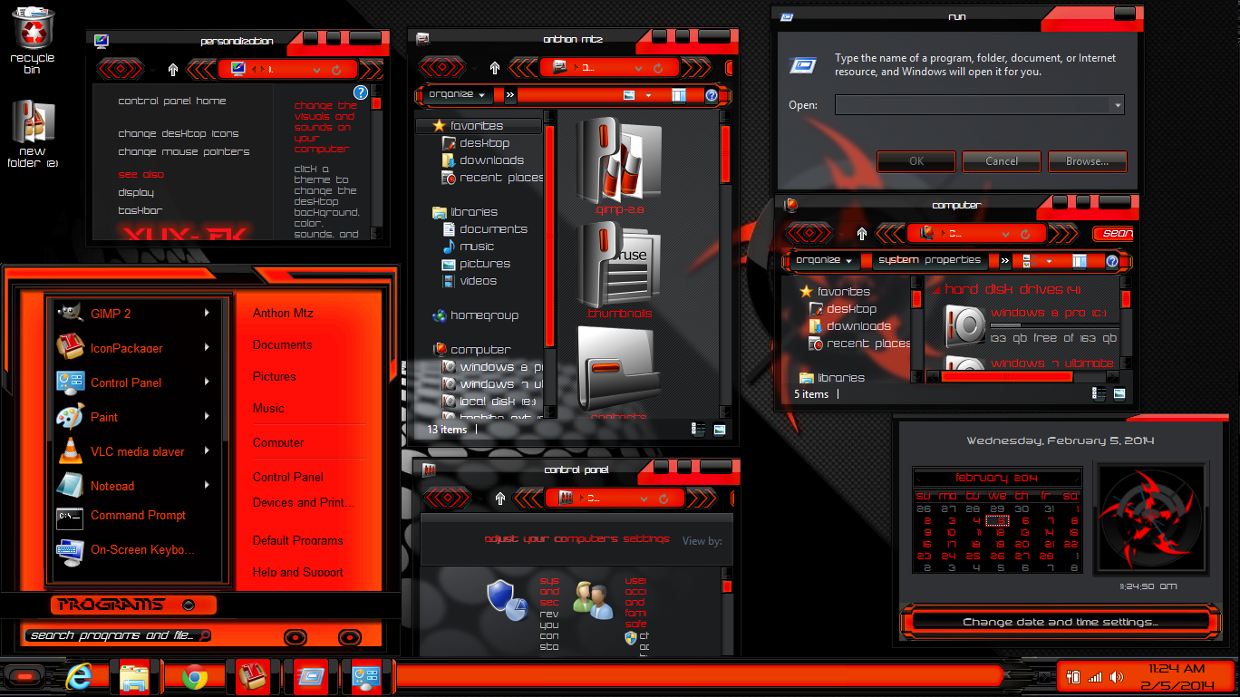 windows 8.1 themes free download full version