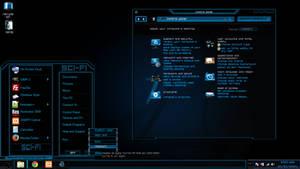 Windows 8, 8.1 and 10 Theme (sci-fi)