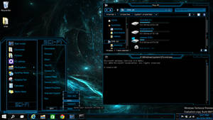 Windows 10 theme Technical Preview (sci-fi)