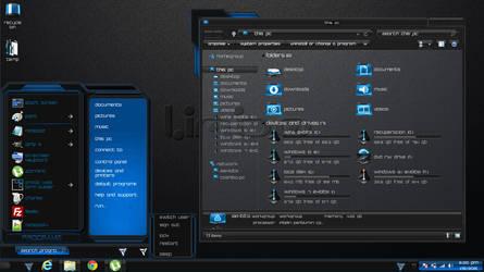Windows 8.1 Theme Blue Limbo by newthemes